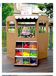 Cookie Booth idea