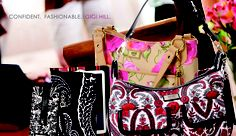 Check out this great collection of bags and accessories. Too see them all Visit my website at www.gighillbags.com/lindalong