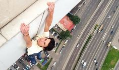 Russian City Climbers Hanging From Skyscrapers Will Make Your Palms Sweat Just Looking At Them