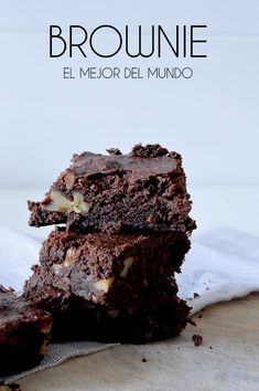 chocolate-23 Brownie Recipes, Cookie Recipes, Chocolate World, Brownie Bar, Chocolate Brownies, How To Make Cake, Bakery, Food And Drink, Sweets