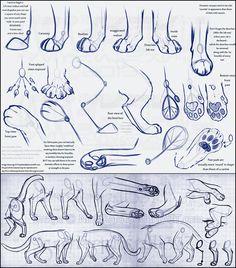 Fancy Feline Feet (tutorial reload) by NinjaKato.deviantart.com on @deviantART