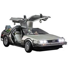 [Back To The Future: Hot Toys Deluxe Vehicles: Delorean (Product Image)]