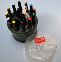 Museum of Forgotten Art Supplies - K+E Reservoir Pen Set - Pens
