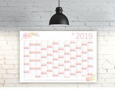 2019 Stand Alone Desktop Kalender Cartoon Schwein Kalender Tagesplaner Kalender Geschenke
