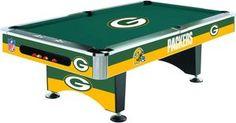 Pool Table Billiard Table NFL Packers | eBay