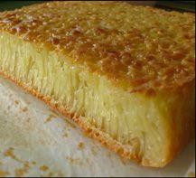 Kue mangkok ini sangat enak, teksturnya lembut kenyal seperti Kue Apam dan agak sedikit lengket. Tapi sangat pas untuk kudapan dan sangat membawa suasana tradisional.