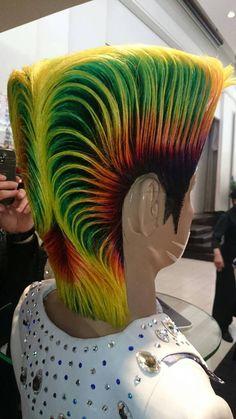 世界大会ヘアー Jojo Fashion, Men's Fashion, Competition Hair, Dream Hair, Men's Hair, Character Inspiration, Hair Beauty, Dreadlocks, Hair Styles