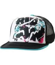 For the girl who can't stop and won't stop riding Fox Racing brings you the girls Rock On Trucker snapback hat in white and black. This lightweight breathable mesh trucker hat features a white foam front, black mesh panels at the back and a Fox head logo Flat Bill Hats, Flat Hats, Twenty One Pilots Hat, Fox Racing Clothing, Fox Brand, Dope Hats, Fox Hat, Girl Beanie, Fox Girl
