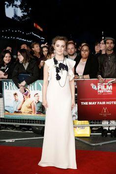 SAOIRSE RONAN at Brooklyn Premiere at BFI London Film Festival 10/12/2015