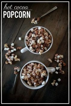The perfect treat for chilly nights: Hot Cocoa Popcorn.