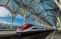 Portugal - Lisbon - Bairro Expo - Orient Station (Santiago Calatrava)