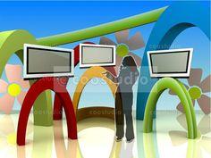 virtual set Kids volume 1 Tv Decor, Studio, Kids, Crafts, Study, Studios, For Kids, Children