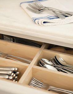 silverware storage | Tim Barber Ltd