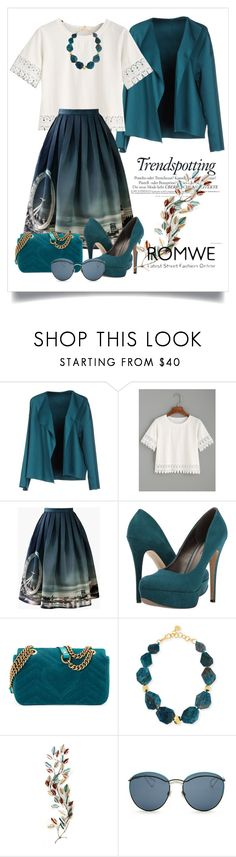 """""""Untitled #76"""" by andisasha ❤ liked on Polyvore featuring Melissa, N_8, Chicwish, Michael Antonio, Gucci, Nest and Christian Dior"""