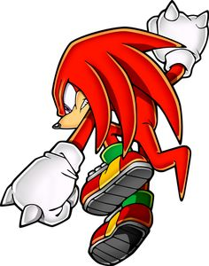 My favorite video game character. ... Knuckles the Echidna (Sonic the Hedgehog)