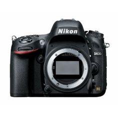 Nikon D600 24.3 MP CMOS FX-Format Digital SLR Camera #FFTech #Fitfluential