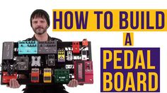 Wanna take your guitar playing to the next level? Build a pedal board! Guitar World's Paul Riario shows you how to build the ultimate pedal board - from dela...