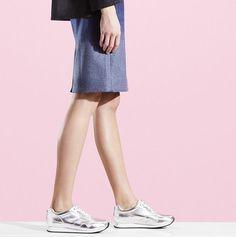 Sølv sneakers @ Bianco #Fisketorvet #Copenhagenmall #fashion
