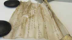 3D X-ray tech to reveal secrets of 'unreadable' 15th century scroll