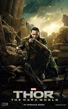 Character Poster of Loki for Thor: The Dark World