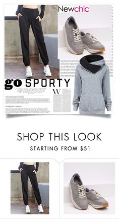 """""""New chic#1"""" by emypoyvore ❤ liked on Polyvore featuring Oris, O-Newe and newchic"""