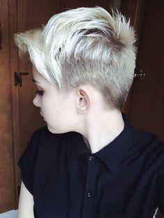 low key high key want short hair