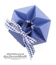 Hexagonal Box Tutorial Using Stampin' Up! Delightful Daisy Delight