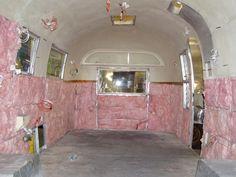 Airstream trailer restoration information and campsite reviews