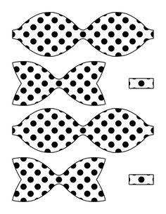 Bow Pattern, Pattern Paper, Paper Patterns, Bow Template, Templates, Ramadan Lantern, Hair Bow Tutorial, Felt Hair Clips, Hair Ribbons
