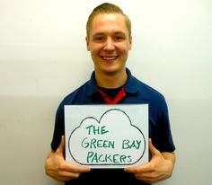 "To celebrate the International Day of Happiness, Hapacus went out into the streets to ask people what makes them happy. Our ninth participant: ""The Green Bay Packers""!"