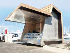PAN architecture - jean luc fugier & mathieu barbier bouvet, Fest architecture — kiosque d'information