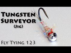Tungsten Surveyor (Jig Hook) - Fast, Easy, Most Productive Nymph EVER!
