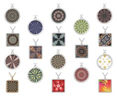 NECKLACES: STAINED GLASS KALEIDOSCOPES + by artist4god-rose-santuci-sofranko on Polyvore featuring polyvore, fashion and style. Please visit me on Polyvore ( http://artist4god-rose-santuci-sofranko.polyvore.com ) or at my website for info on purchasing my products and books. www.Artist4God.net Thank you & God bless!