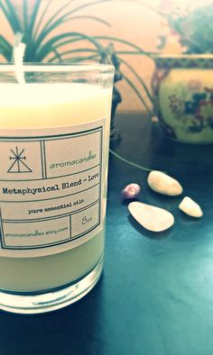Love soy candle  Made with pure essential oils of by aromacandles