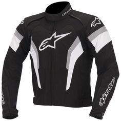 Alpinestars-T-GP Pro Motorcycle Jacket  Description: The Alpinestars T-GP Pro Textile Motorbike Jacket is       packed with features:              SPECIFICATIONS:                      Multi-material construction with an advanced poly-fabric textile         main shell – Ensuring excellent abrasion and tear resistance             ...  http://bikesdirect.org.uk/alpinestars-t-gp-pro-motorcycle-jacket-2/
