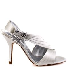 5ed8d7abe5e Connie heels Ivory brand heels Bourne White Bridal Shoes