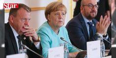 Merkel: Kritik bir durumdayız: İngiltere'nin birlikten ayrılmasının ardından Slovakya'nın Başkenti Bratislava'da gerçekleştirilecek AB liderler zirvesi öncesinde konuşan Almanya Başbakanı Angela Merkel birliğin kritik bir durumda olduğunu söyledi.