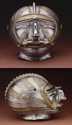 Tournament helmet - German