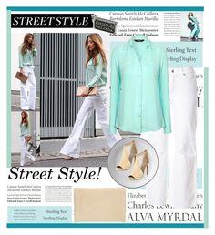 """Street Style!"" by farzija-duzel ❤ liked on Polyvore featuring Tiffany & Co., Cambio, Royal Doulton, Aquazzura, Halogen, Jane Norman and Stephen Einhorn"