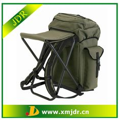 backpack with folding chair,backpack with fishing chair,fishing backpack
