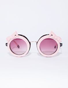 Pink a la mode Ray Ban Sunglasses Outlet, Sunglasses Online, Oakley Sunglasses, Mirrored Sunglasses, Round Sunglasses, Funny Sunglasses, Trending Sunglasses, Mode Rose, Four Eyes