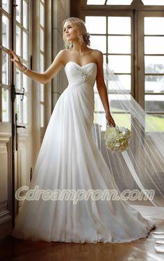 chiffon wedding dress #chiffon #princess