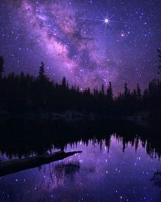 So very beautiful - the sky at night with all the stars is what makes me feel most safe yet so small