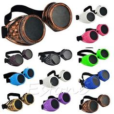 New vintage #victorian steampunk #goggles glasses #welding punk gothic cosplay ho,  View more on the LINK: http://www.zeppy.io/product/gb/2/111701093296/
