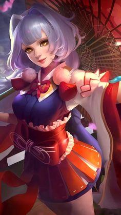 Kagura Cherry Witch Mobile Live Wallpaper