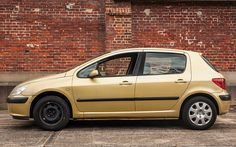 Ella Williamson's abandoned Peugeot 307