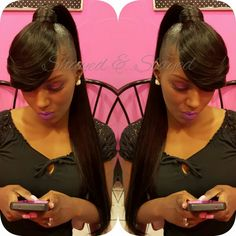 My Extended Ponytail Bangs Ig Shayes Dvine Perfection Fb Shayes