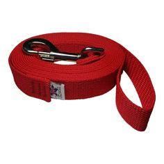 Freedom Pet 1 Inch Heavy Duty Polypropylene 510152025304050 Feet Dog Leash Select Your Length and Color Firehouse Red 100 FT * Details can be found by clicking on the image. (This is an affiliate link) Dog Harness, Dog Leash, Pet 1, Dog Items, Red Dog, Best Dogs, Your Pet, Pet Supplies, Dog Lovers
