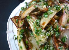 Butter-Garlic Oven Fries with Herbs ❤❤❤