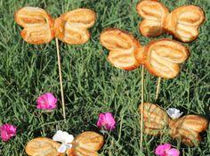 Bilyrecetas: Mariposas de hojaldre